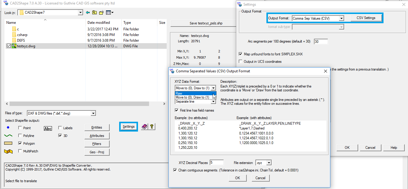 convert dxf to shp online free