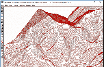 Output elevation data as a real 3D z cordinates - Arcv2CAD
