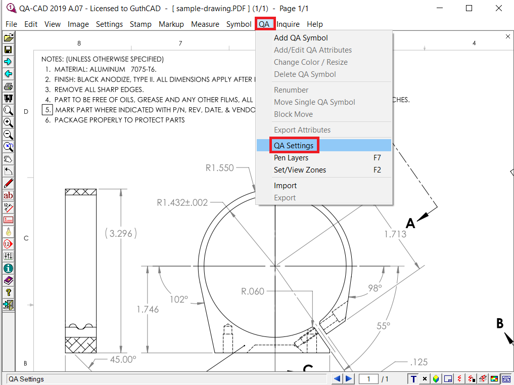 How To Create A Fai Report From Text Selectable Pdf In Qa
