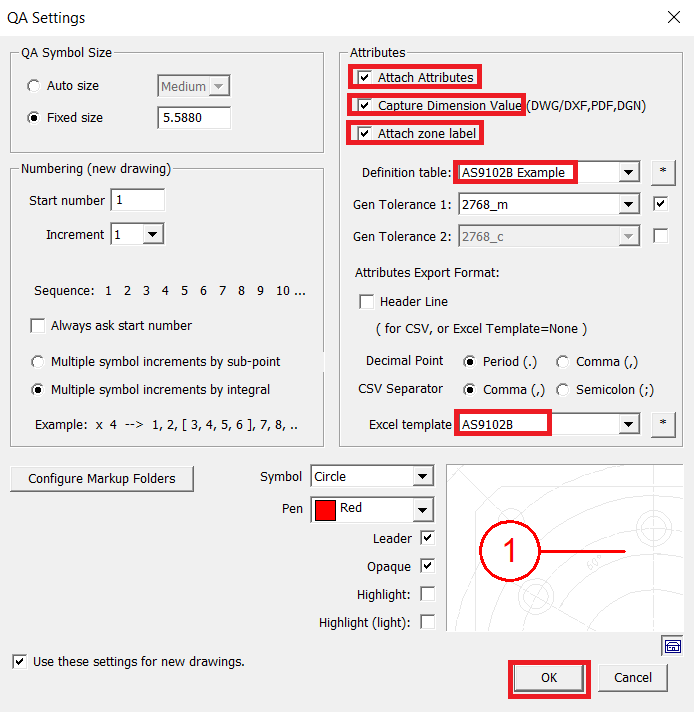 Change AutoCAD to PDF output settings