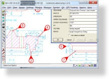 QA-CAD / CAD QS screenshot