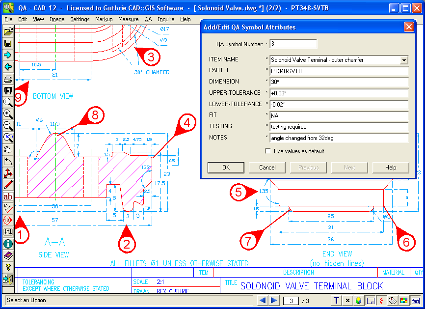 CAD Viewer Quality Assurance Software